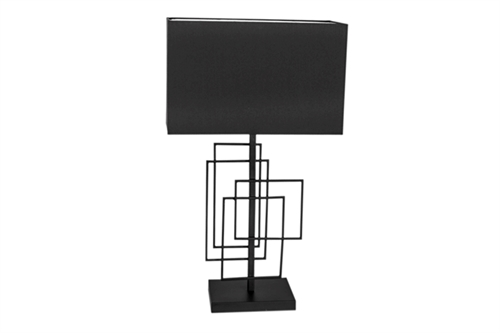 By Rydéns Paragon Bordlampe H69cm Matt/Sort