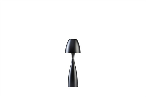 Belid Anemon Bordlampe Lille Matt Sort Ø125mm H389mm