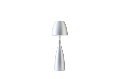Belid Anemon Bordlampe Medium Sølv/Oxid Ø162mm H497mm