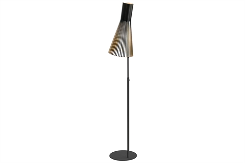 Secto Design Gulvlampe 4210 Sort Ø34 H174-185