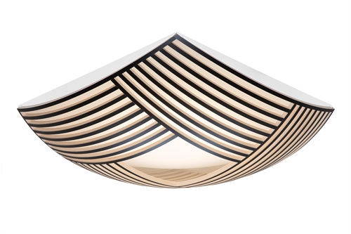 Secto Design Kuulto 9100 Plafond Sort W52 H52