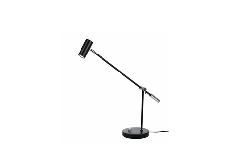 Belid Cato Bordlampe H48,4cm Matt Sort