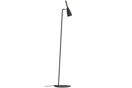 Design For The People Pure 10 Gulvlampe Ø7,5cm H150cm Sort