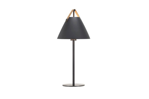 Design For The People Strap Bordlampe Ø25 Sort