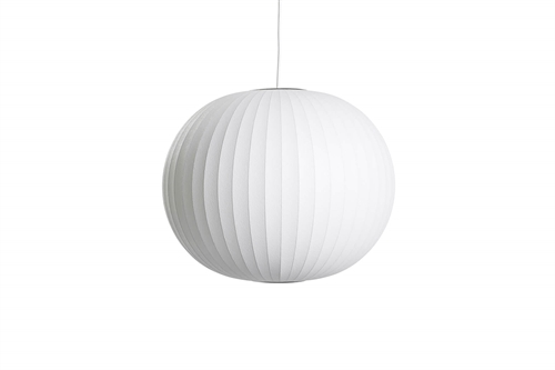Herman Miller Nelson Ball Bubble Medium Pendel Ø48,5 Hvid