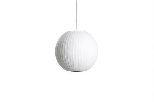 Herman Miller Nelson Ball Bubble Small Pendel Ø32,5 Hvid
