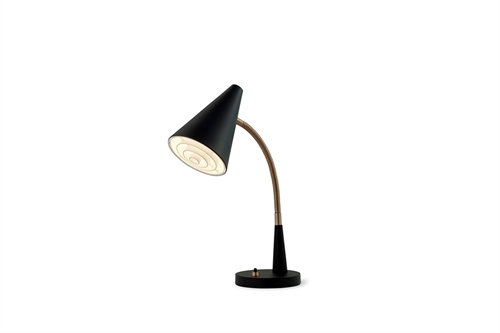 Herstal Duet Bordlampe Ø12cm Sort
