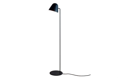 Nyta Tilt S All Black Gulvlampe Ø18 H128,5 Sort