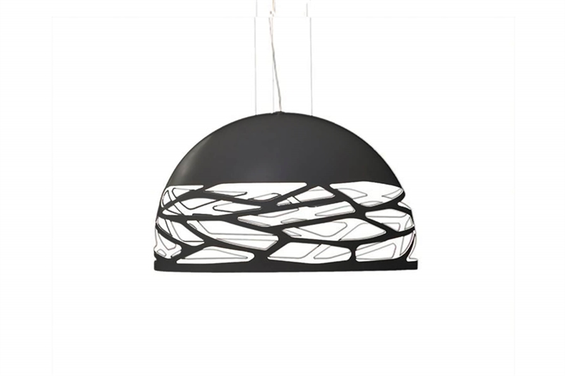 Studio Italia Design Kelly Medium Dome Pendel Ø60 Sort