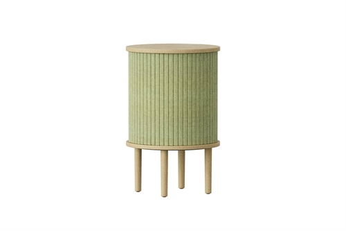 Umage Audacious Side Table Bord Egetræ/Spring Green Ø38cm H59,3cm